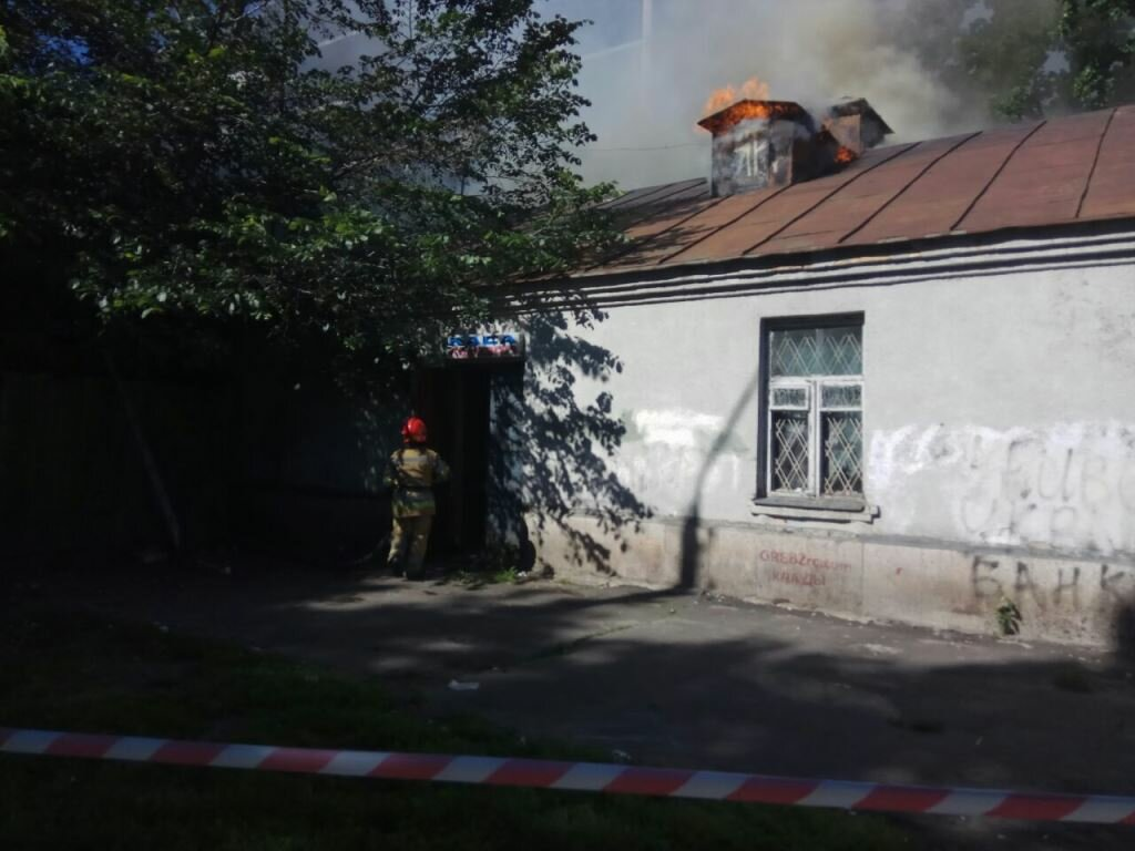 У Києві зайнялася пам'ятка архітектури - image pozhar1 on https://kyivtime.co.ua