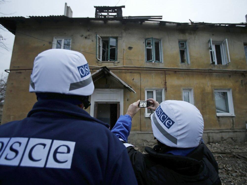 ОБСЕ отыскала замаскированный танк «ДНР»