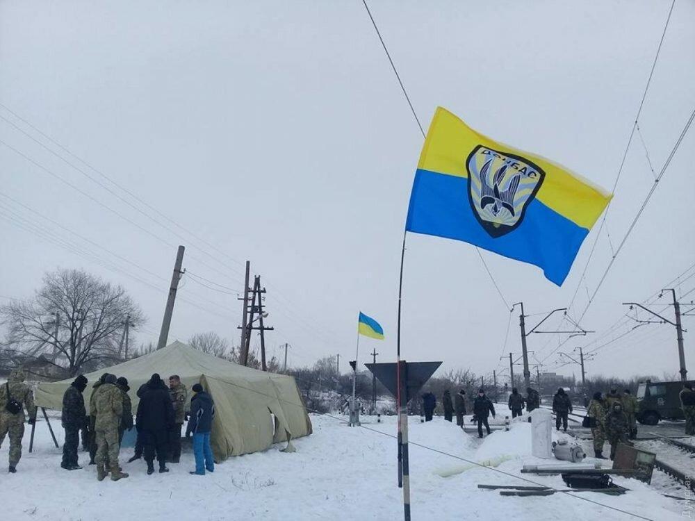 «Укрзализныця»: Убытки отблокады Донбасса превысили 50 млн грн
