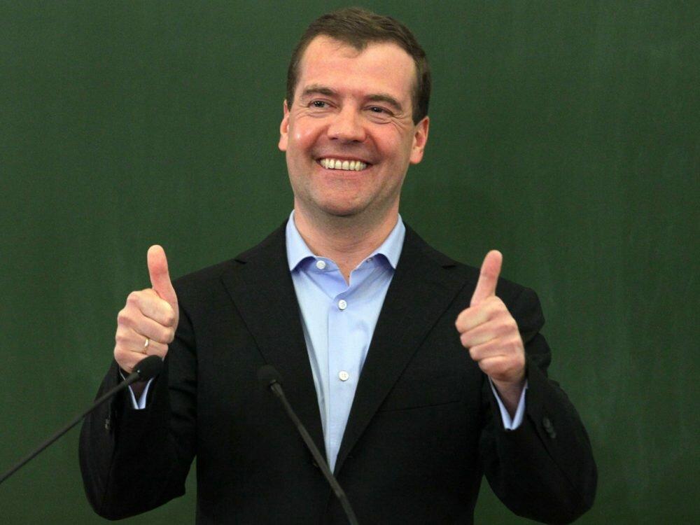 Димон ответил: стало известно, чем занимался Медведев вдень протестов вРФ