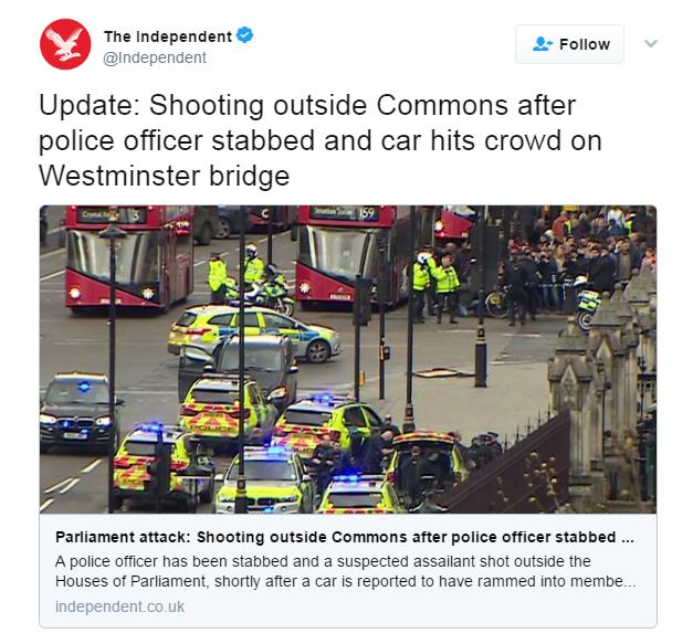 Теракт упарламента Англии: что понятно наэтот момент