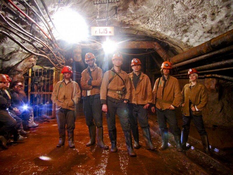 ВКривом Роге шахтеры устроили забастовку под землей