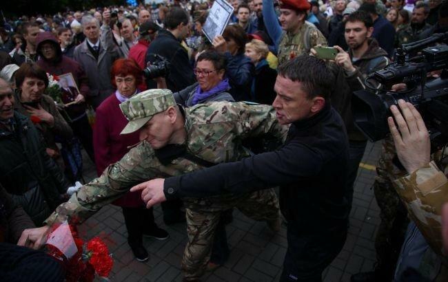 ВДнепре установили личности 25 участников столкновений 9мая