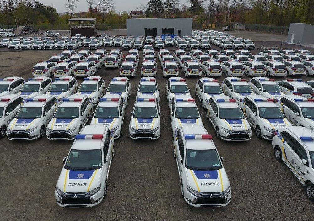 Аваков: В государство Украину прибыли 635 новеньких Мицубиси для милиции