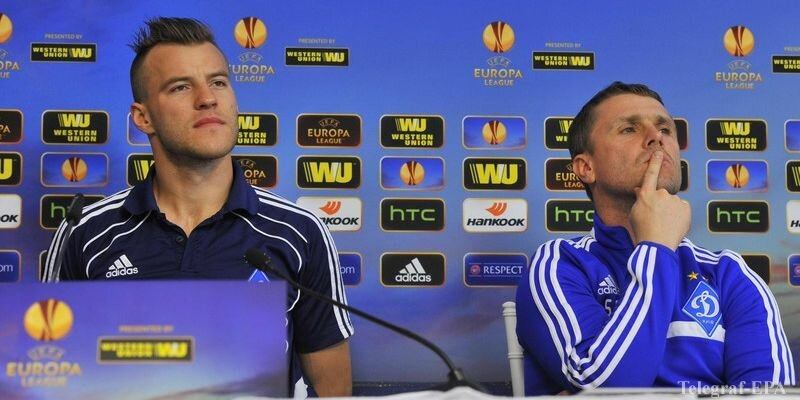 Dynamo Kiev press conference