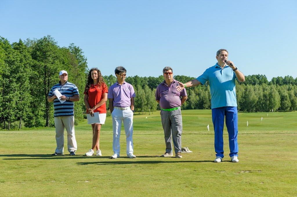 Х Международный гольф-турнир на призы КСК004