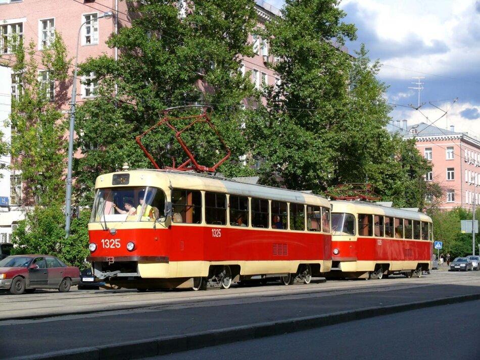 Несколько столичных трамваев временно перестанут ходить— Будь вкурсе