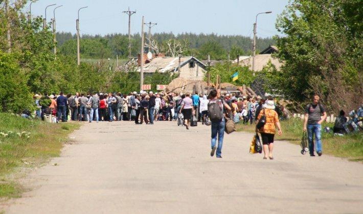 НаКПВВ «Станица Луганская» задержали украинца своенной фурнитурой ссимволикойРФ