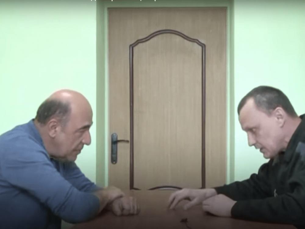 Вадим Рабинович обнародовал видео встречи сКарпюком в русской тюрьме