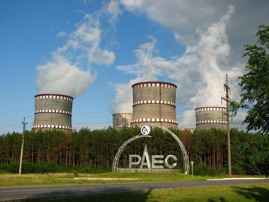 Автоматическая защита Ровенской АЭС отключила один энергоблок