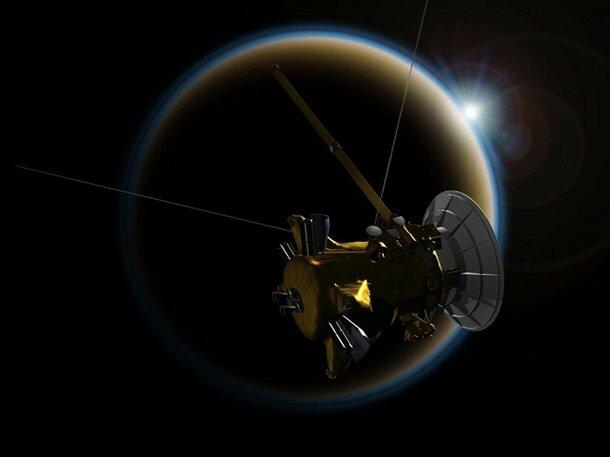 NASA опубликовало фотографии Сатурна сзонда Кассини