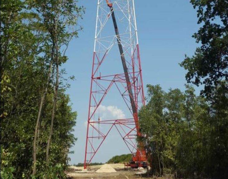ВЛуганской области построили телебашню для вещания на захваченные территории