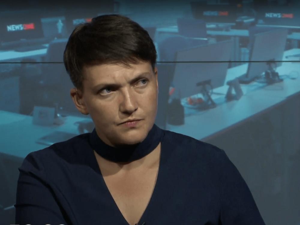 Савченко: Проект «Стена» является «тупым выбрасыванием денег»