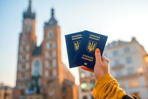 Сначала действия безвизаЕС посетили почти 6 млн украинцев