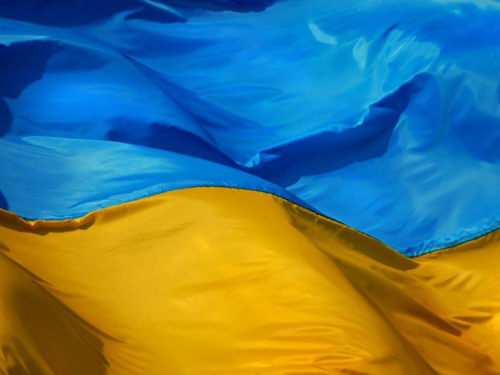 В «ЛНР» атлет развернул нанаграждении флаг государства Украины