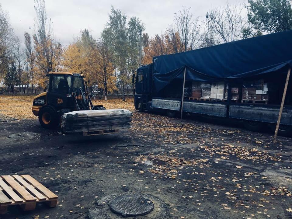 Гуманитарная помощь Словакии прибыла вЛуганскую детскую клинику