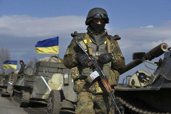 Напередовой взоне АТО умер украинский военный