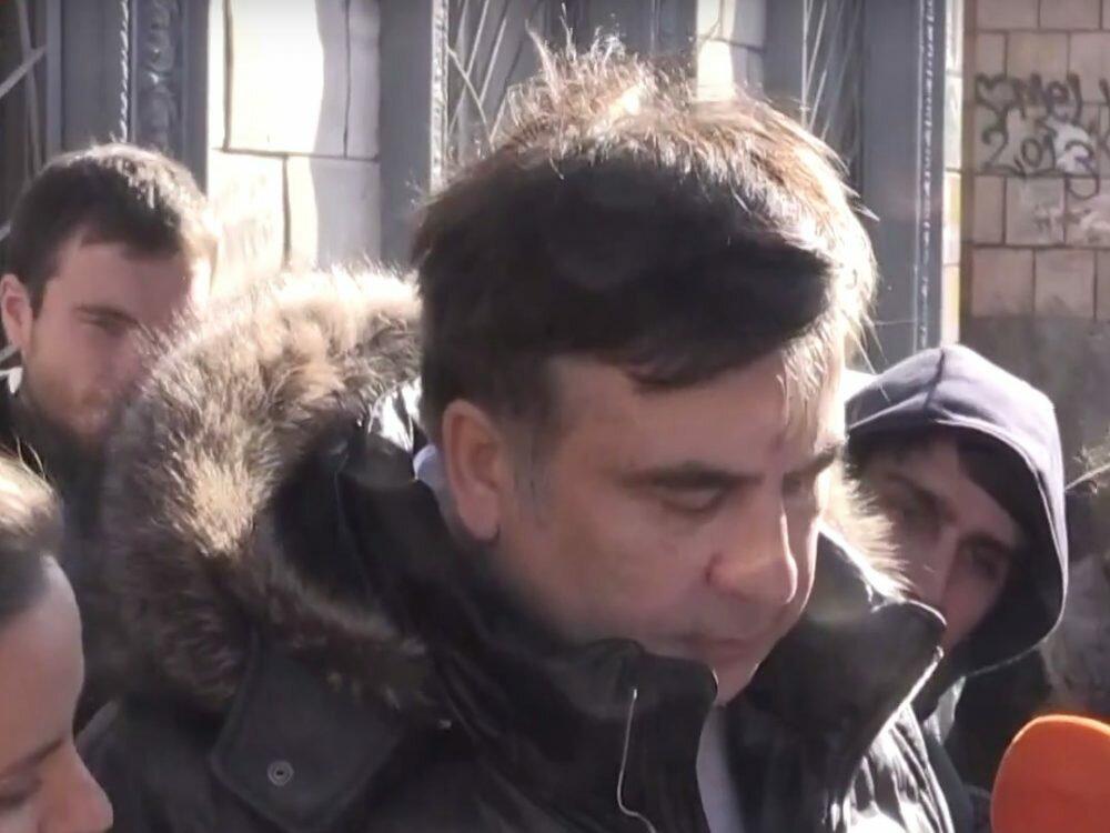 Саакашвили получил документы олишении его гражданства Украинского государства