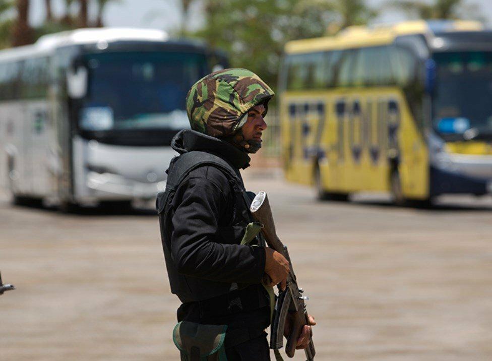 ВЕгипте полицейские вступили в стрельбу сбоевиками