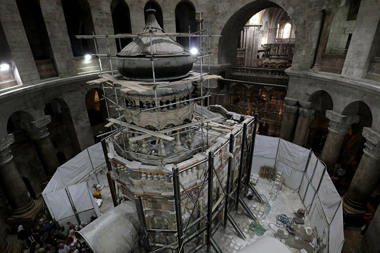 Археологи определили возраст гробницы Христа