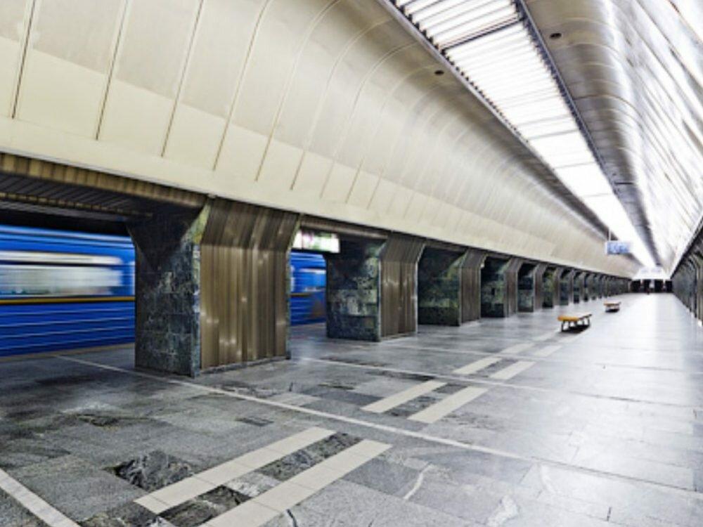 ВКиеве ищут бомбу настанции метро «Дворец спорта»
