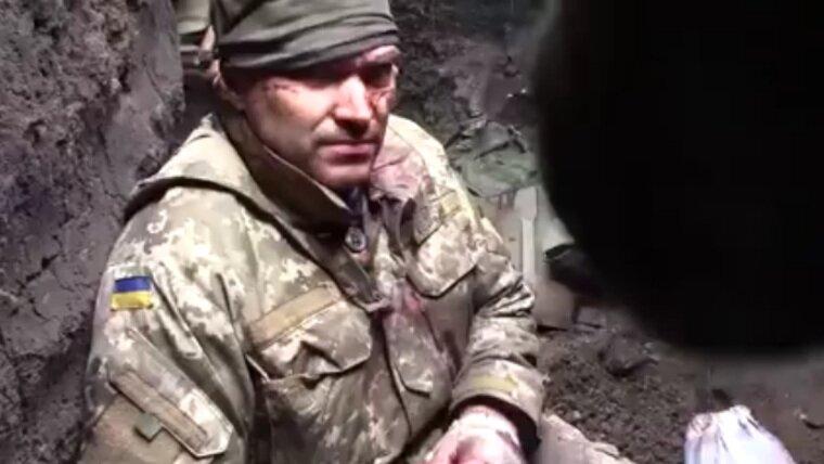 Штаб «АТО» неторопится признавать попавшего вплен боевика ВСУ