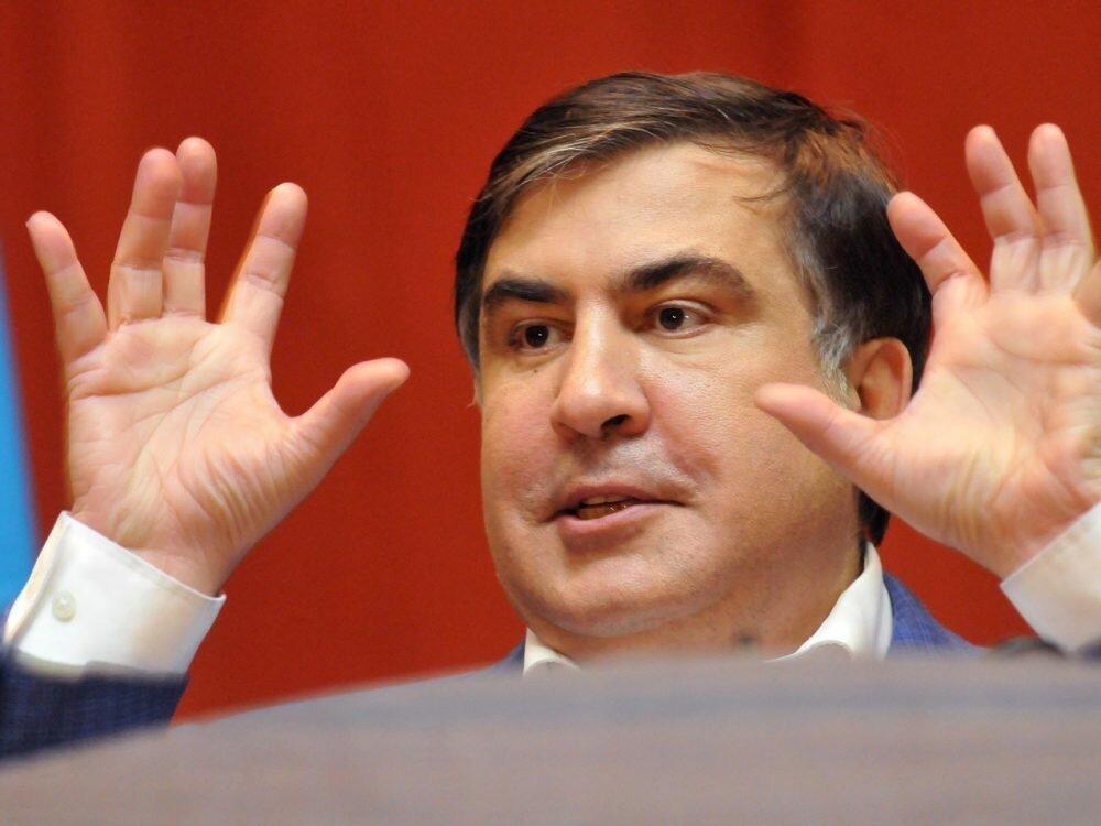 Рабинович «разгромил» Саакашвили напремьере шоу «Украинский формат» наканале NewsOne