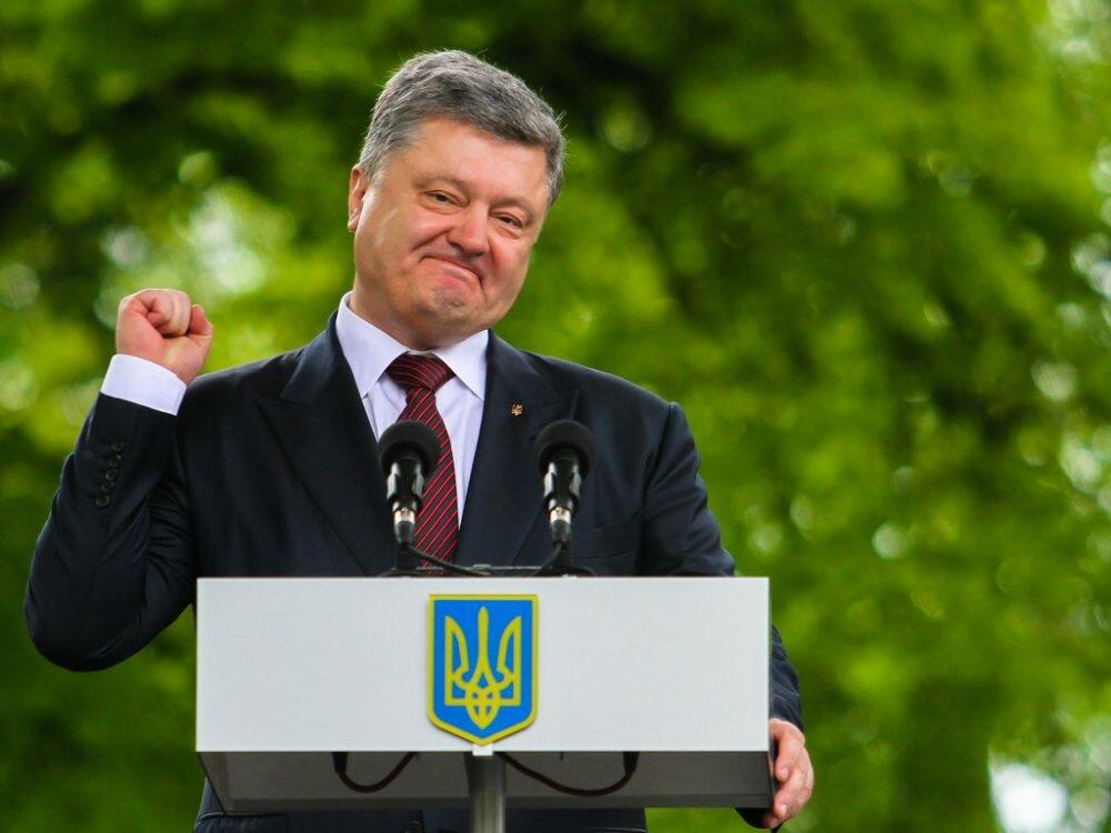Порошенко показал видео с ключевыми победами Украины в 2017 году