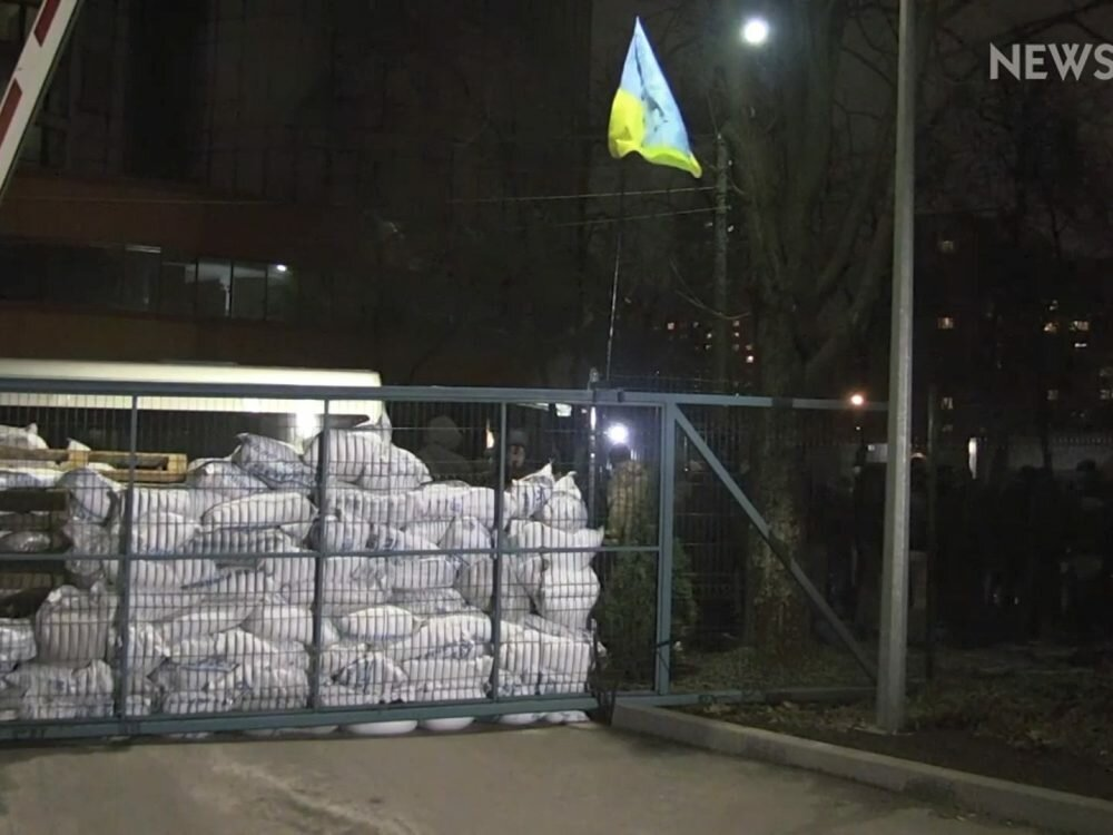 Саакашвили прибыл защитить неугодный канал NewsOne