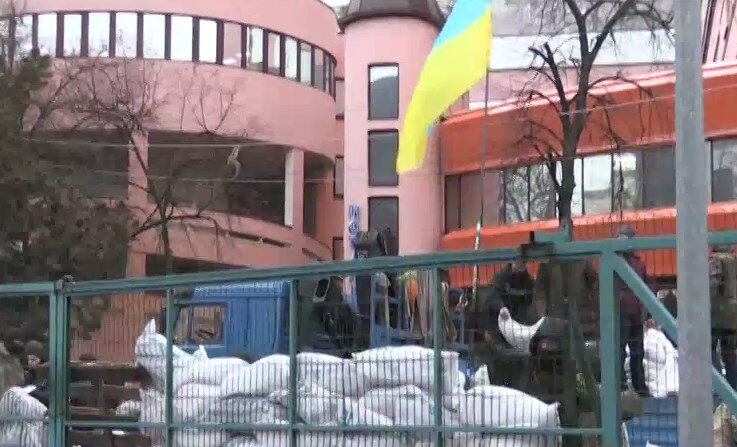 ВКиеве заблокировали кабинет канала NewsOne