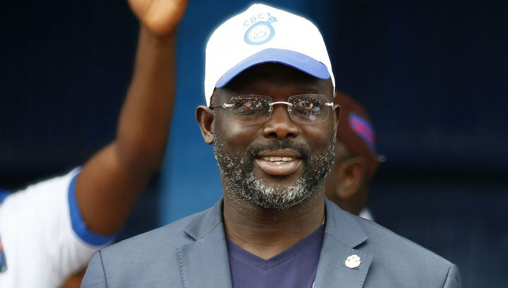 Экс-футболист «Милана» стал президентом Либерии