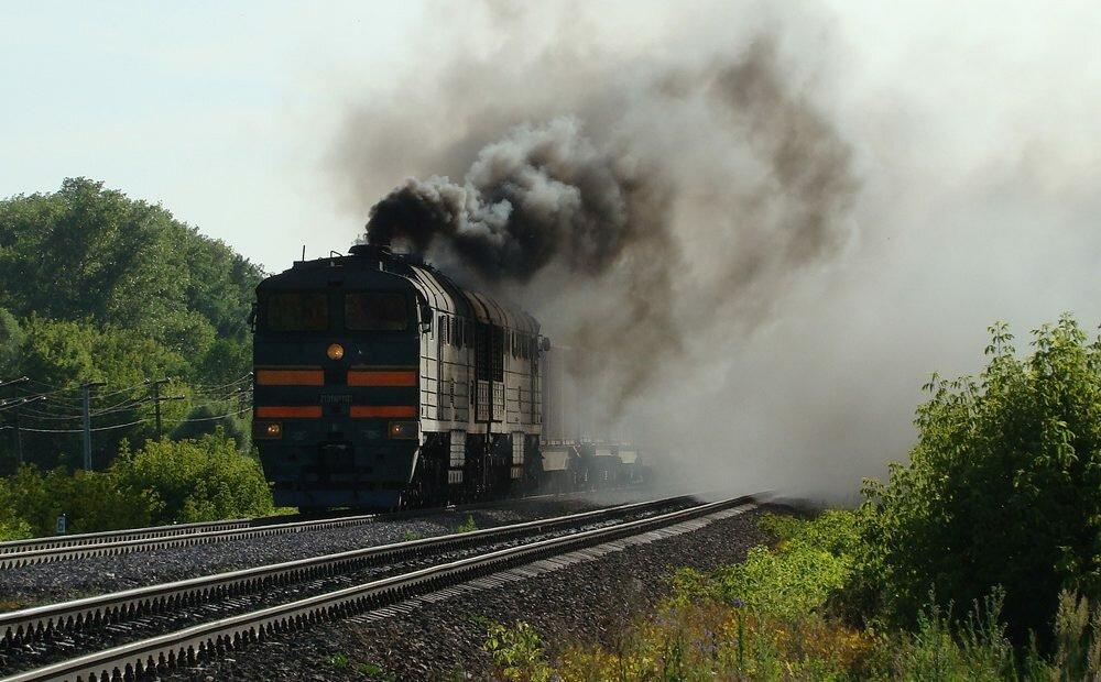 Поезд «Запорожье— Киев» задымился вдороге,— «Укрзализныця»