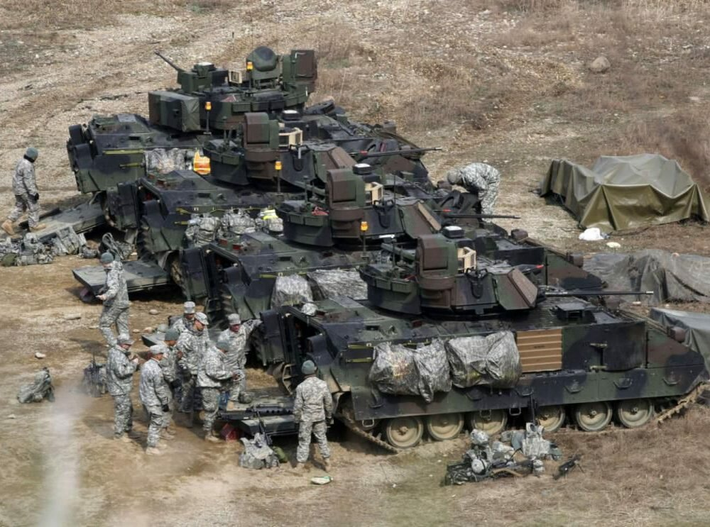 США направят вЕвропу танковую бригаду