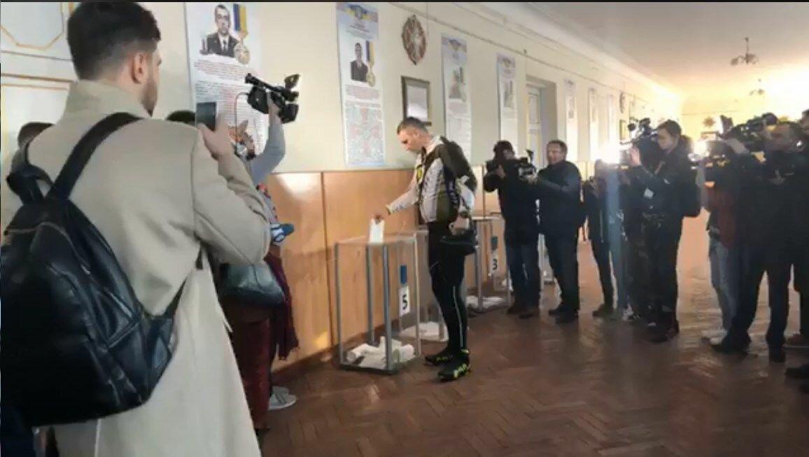 ВУкраинском государстве  прошли президентские выборы