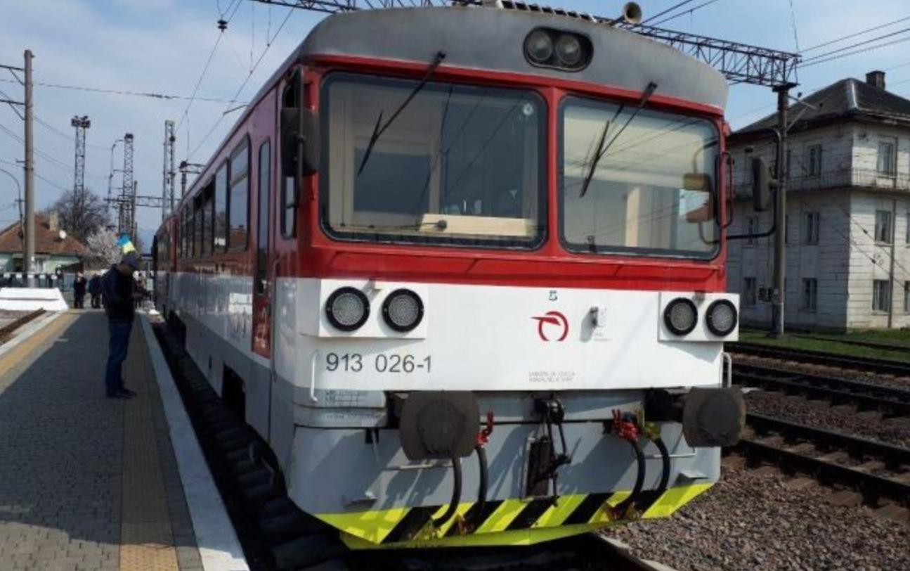Укрзализныця провела тестовую поездку поезда Мукачево-Кошице