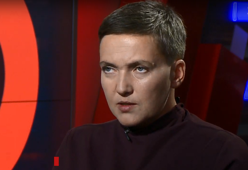 Савченко поведала  овранье Порошенко про войну вДонбассе