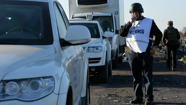 Посольство США призвало не перекрыть работу ОБСЕ наДонбассе