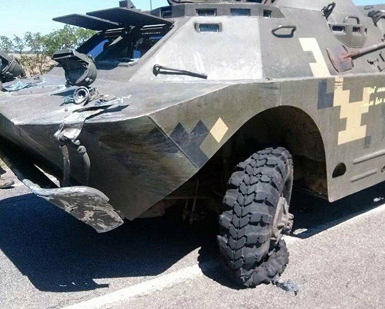 ДТП сучастием военной техники случилось наюге Украинского государства, есть погибшие